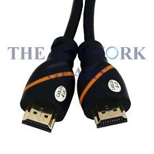 NEW HDMI Plated Cable - 6 Feet - High Speed - Supports Ethernet, 3D, Audio