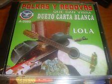 Dueto Carta Blanca de Luis Y Lalo Polkas y Redovas CD New Sealed