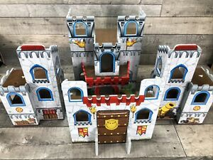 Wooden Toy Castle with Working Drawbridge KidKraft Medieval