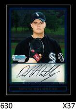 1-2009 BOWMAN CHROME DRAFT GOLD DAVID HOLMBERG REDS QTY AVAILABLE