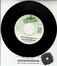 """BLOOD, SWEAT & TEARS Got To Get You Into My Life & Hi-De-Ho 7"""" 45 rpm record NEW"""