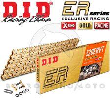 Catena Trasmissione DID 520ervt (ex Vt2) X-ring 120 maglie Oro Moto Cross Enduro