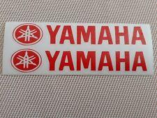 Hochwertige Premium Yamaha Motorrad Aufkleber-Sticker in Rot