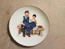 Norman Rockwell Museum Collection Plates 3 In Set 1986