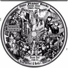 Dune Planet Books Herbert & Anderson  5 Unabridged  Audiobooks