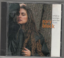 RORY BLOCK - when a woman gets the blues CD