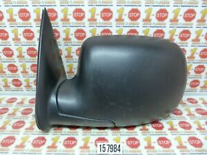 1999-2007 CHEVROLET SILVERADO DRIVER/LEFT SIDE VIEW MANUAL DOOR MIRROR OEM