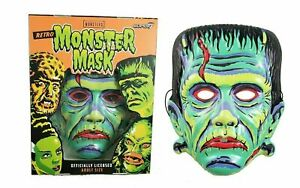 Super7 Universal Monsters Retro Frankenstein Mask Halloween