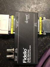 Fidelio Audio Interface For Non Doremi Servers