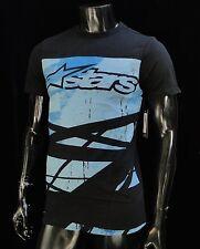 Alpinestars Racing Motocross Chance Black Atletic mens T shirt size Small