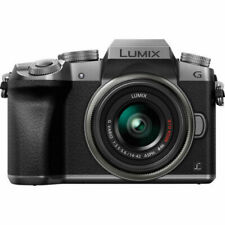 Panasonic Lumix DMC-G7 16.0MP Digital SLR Camera - Silver (Kit w/ 14-42 mm Lens)