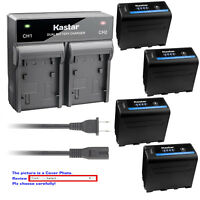 Kastar Battery Rapid Charger for Sony NP-F970PRO CCD-TR717 CCD-TR718 CCD-TR728