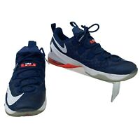 Nike Lebron XIII Sneakers Men Size 13 Low Top Basketball Shoes Blue/White 831925