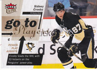Sidney Crosby 2009-10 Fleer Go to Player #GT4