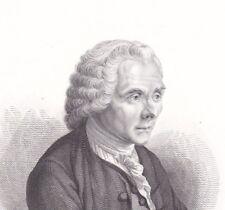 Jean Jacques Rousseau Genève Ermenonville