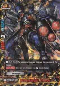 FUTURE CARD BUDDYFIGHT ARMORKNIGHT DEMON (DANGER WORLD) BT01/0008EN RRR