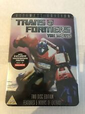 Woolworths Exclusive Transformers The Movie 1986 Tin Steel Book Ultimate Edition