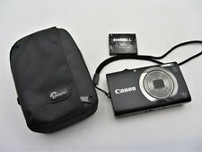 Canon PowerShot A2300 HD 16 MP Digital Camera With Extra Battery & Lowepro Case