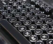 AZIO MK RETRO USB Tactile Mechanical Classic Black Keyboard~TYPEWRITER STYLE