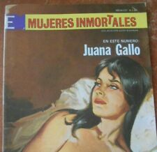 MUJERES comic SEXY WOMEN JUANA GALLO MEXICAN REVOLUTION maria felix catfight