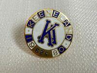 Vintage 1980 Keeneland Club Member Lapel Pin Horse Racing Breeders Cup #625 Rare