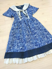 axes femme POETIQUE Dress Japan-M Sailor collar Hime&Classical Lolita 109Fashion