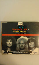 CHER,CHRISSIE HYNDE,NENEH CHERRY WITH ERIC CLAPTON - LOVE CAN...   - 4 TRACKS CD