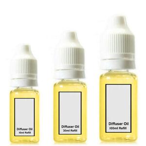 Car Air Freshener Oil Reed Diffuser Burner Refill Bottle Scent Fragrances