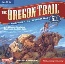 THE OREGON TRAIL 5 5th Edition  Learn History &Explore the West  XP Vista 7  NEW