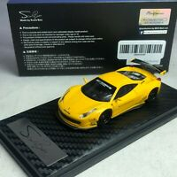 1/64 ScaleBox LB Works 458 Yellow Singapore exclusives