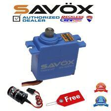 Savox SW-0250MG Waterproof Digital Micro Servo + Free Glitch Buster