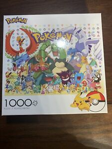 Pokémon Nintendo Picachu Jigsaw Puzzle 1000 Pieces Buffalo Game Freak NEW