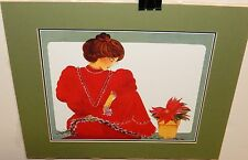 DIANA HANSEN YOUNG HAND SIGNED WOMAN PRINTS