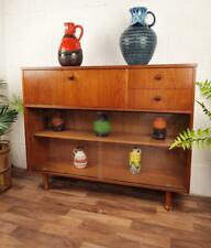 Vintage 60's Avalon Teak Sideboard Bureau Mid-Century Retro Bookcase