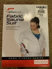 Sportline Fabric Sauna Suit 2 Piece Outfit Size Small/Medium
