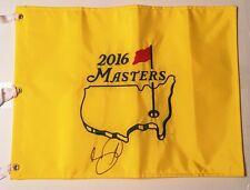 JASON DAY SIGNED 2016 MASTERS GOLF PIN FLAG AUGUSTA NATIONAL PGA TOUR AUSSIE COA