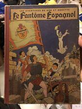 Bob et Bobette «Le Fantôme Espagnol» EO 1952 TTbe