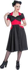 Hell Bunny VAMPIRESS 2-Tone Swing BAT Kleid DRESS Rockabilly