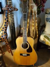 Yamaha FG-512    12 String    Acoustic Guitar  With New Hard Case