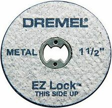 Dremel EZ456 EZ Lock Cut-Off Wheels 1 1/2 Inch 5 Discs