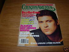 Billy Ray Cyrus IP Signed Autographed Country Magazine