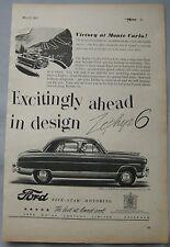 1953 Ford Zephyr-Six Original advert No.2