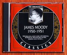 JAMES MOODY 1950 - 1951  CD  The Classics Chronological Series 1263  Like New