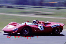 Chris Amon Ferrari 350 P4 Tasman Series Sportscar Race 1968 Photograph