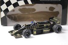 1:18 Minichamps Lotus Renault 98T 1986 J.Dumfries #11 NEW bei PREMIUM-MODELCARS