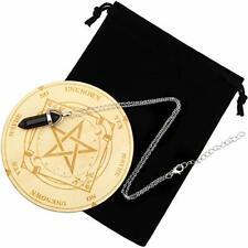 Star Pendulum Board Dowsing Divination Metaphysical Message Board Wooden Board