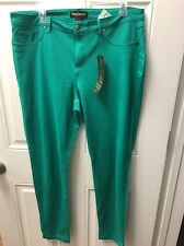 New Emerald Like And Angle Stretchy Jeans