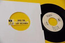 "GARY PUCKETT & UNION GAP 7"" OVER YOU ITALY JB 1968 CON STICKER"