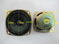 "1pcs 3""inch 4Ω 10W full-range speaker loudspeaker 4ohm Home Audio TV Video parts"