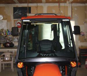 Magnetic Tractor Backup Mirrors KUBOTA JOHN DEERE zero Turn Mower Rated @130lbs